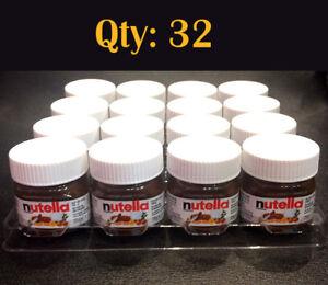Qty-32-x-Mini-Nutella-Hazelnut-Spread-25g-Jar