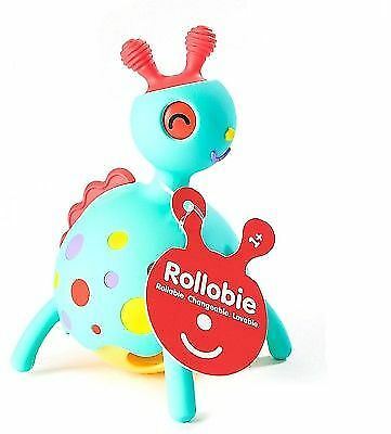 Blue 21588 Fat Brain Toys Rollobie Baby Toy
