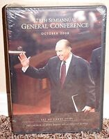 178th Semiannual General Conference Dvd Mormon Lds October 2008