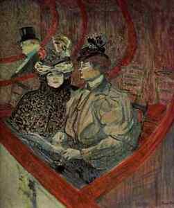 A4-Photo-Toulouse-Lautrec-Henri-de-1864-1901-The-Grand-Loge-Print-Poster