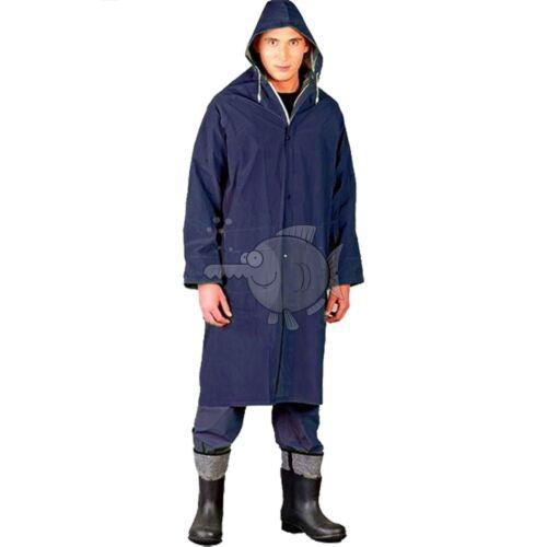 Raincoat Waterproof Rain Coat Work PVC Jacket Full Length Rainproof Workwear