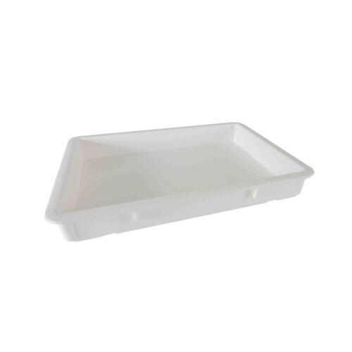 18x26x3-Inch Pizza Dough Box White Thunder Group PLDB182603PP Polypropylene