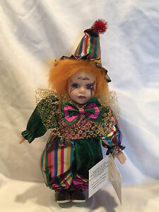Details about Collectible Limited Edition Collector's Choice Collectable  Porcelain Clown Doll