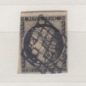 FRANCIA-1849-CERES-20c-VFU-J5217