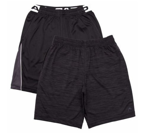 Black NEW HEAD Youth 2-pack Short