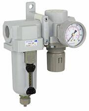"PneumaticPlus Air Filter Regulator Combo 3//4/"" NPT T-Handle SAU420T-N06G-MEP"