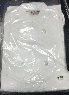 Uncommon Threads 402 Long Sleeve Chef Coat Jacket White NEW Small