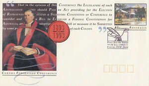 (13812) Australie Entiers Postaux Fdc Corowa Fédération 30 Juillet 1993-afficher Le Titre D'origine