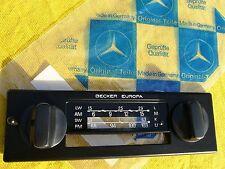 MERCEDES-BENZ BECKER EUROPA 460 RADIO-BLENDE WASCHMASCHINEN-KNÖPFE W123 126 107