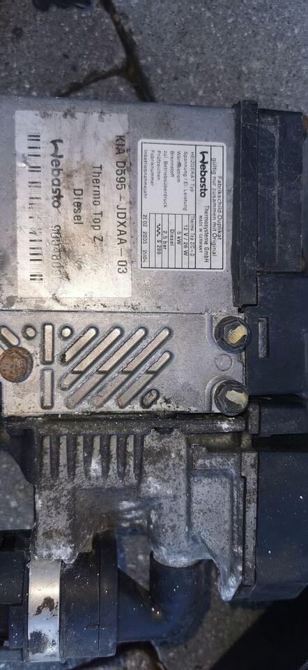 Bilvarmer, webasto thermo top z-d