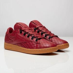 Reebok Classics x Sneaker Politics NPC UK CNL Sizes 7.5-11 Maroon ... 8aa760ff8