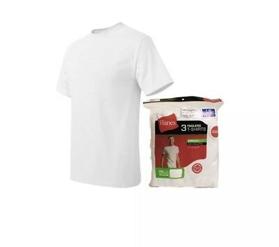 Life Authentic Apparel Mens White Crew Neck T shirt 6 pack S-3XL 100/% Cotton !!