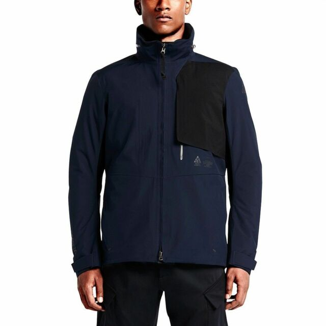 Nike Mens NikeLab ACG 2 in 1 System Gore-tex Jacket Size Small Navy ... 618f4f7ff