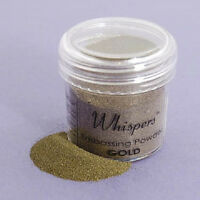 Whispers Embossing Powder - Mirror Gold