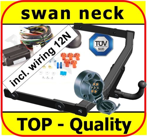 Towbar Towhitch /& Electrics 7pin 12N Skoda Octavia II Hatchback Estate 2004-2013