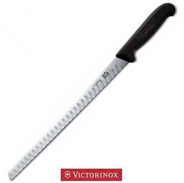 Victorinox Cucina Coltello Lama Flessibile Alveolata 30 cm Salmone Pesce
