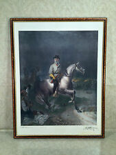 Civil War Limited Edition Print of Robert E Lee on Traveler Guillaume Tesselin