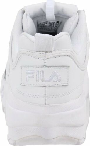 Men Fila Disruptor II Synthetic Fw01655-148 White White 100/% Authentic Brand New