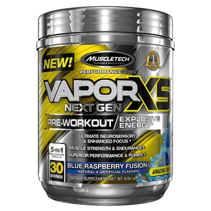 Vapor X5 Next Gen 2 x 228g Muscletech  / 100 g
