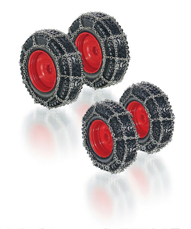 7391 Wheel Set with Chains for Fendt 828,1 3 2 Wiking