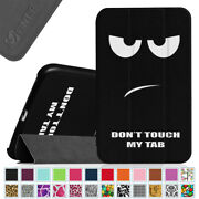 For Samsung Galaxy Tab 4 8.0 Inch Tablet Case Cover Stand Shell Sleep / Wake