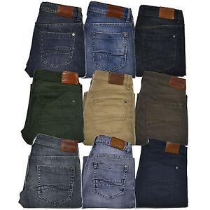 Lee Jeans Pantalones Para Hombres Serie Moderno Calce Recto Lavado A La Piedra Color L342 Ebay