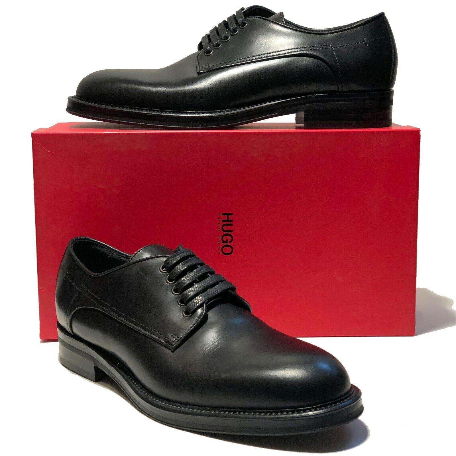 Hugo Boss  MELIO Leather Mens Dress Oxford 10.5 43.5 scarpe Formal Casual