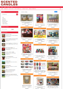 FULLY-STOCKED-SCENTED-CANDLE-UK-WEBSITE-BUSINESS-ECOMMERCE-1-YEARS-HOSTING