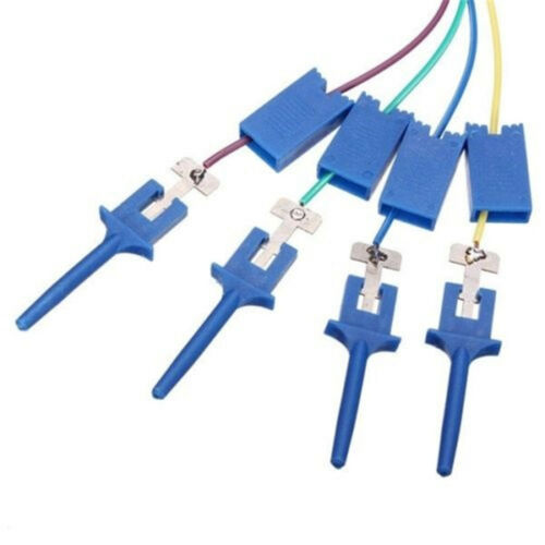 4PCS Test Clamp Wire Hook Test Clip for Analyzer Electronic Components B2AE