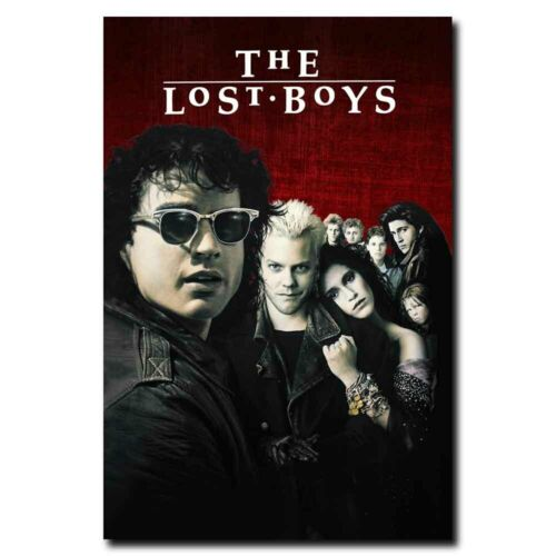 The Lost Boys 12x18 24x36inch 80/'s Old Horror Movie Silk Poster Wall Door Decals