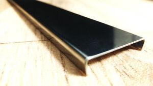 25 mm Bordüre Fliesenschiene Edelstahl Hochglanz Poliert 250 cm DECO PROFIL