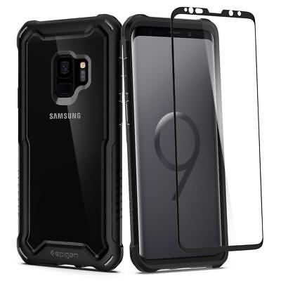 Galaxy S9 Case, Genuine SPIGEN Hybrid 360 Full Body Heavy Duty Cover for Samsung