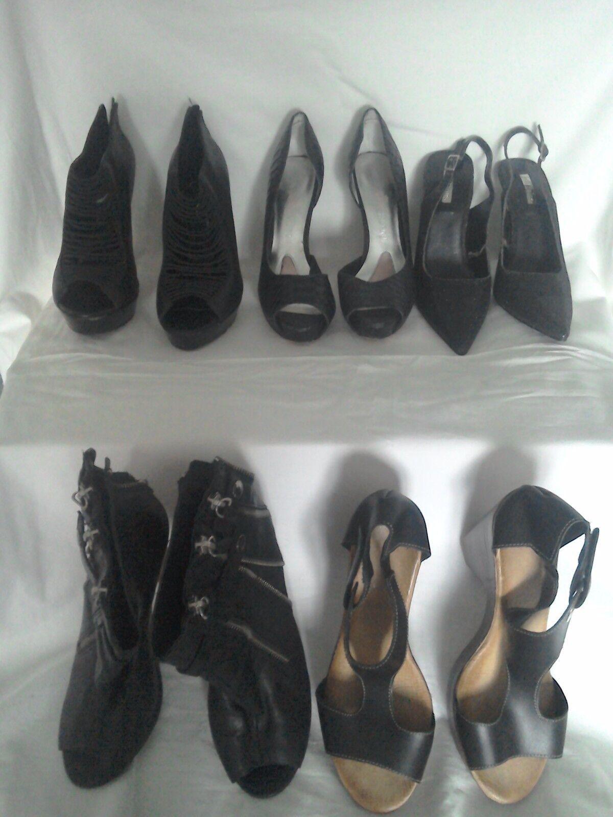 5x Zapatos Jessica Simpson Paris Hilton Hilton Hilton River Island Jeff Bains Negro 5 6 71 2M  elige tu favorito
