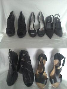 5861d844c5 5x Shoes Jessica Simpson Paris Hilton River Island Jeff Bains Black ...