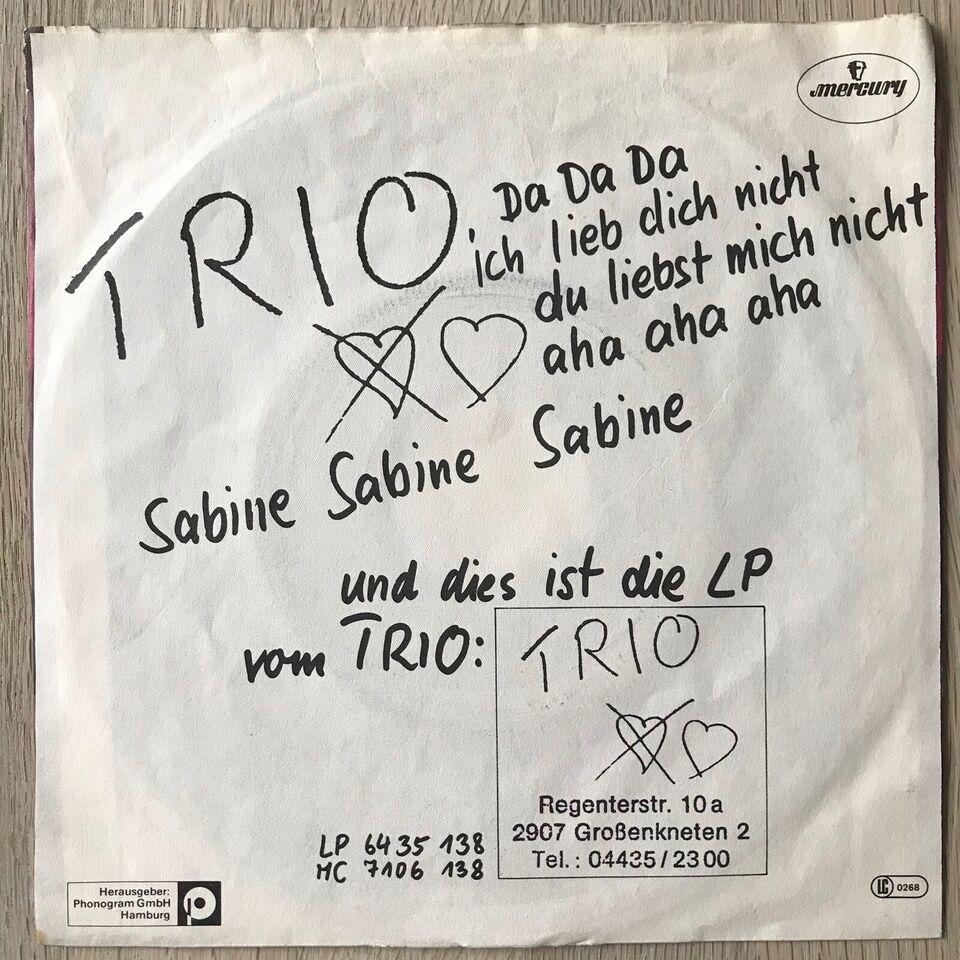 Single, Trio, Da Da Da/Sabine