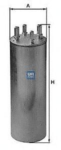 Filtro carburante UFI 31.849.00 VW