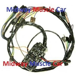 1971 gmc dash wiring 1966 gmc dash wiring diagram dash wiring harness chevy gmc 69 70 71 72 pick up truck ...