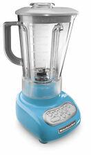 KitchenAid Crystal Blue 5-Speed Blender RR-ksb560cl w/Poly Unbreakble Jar