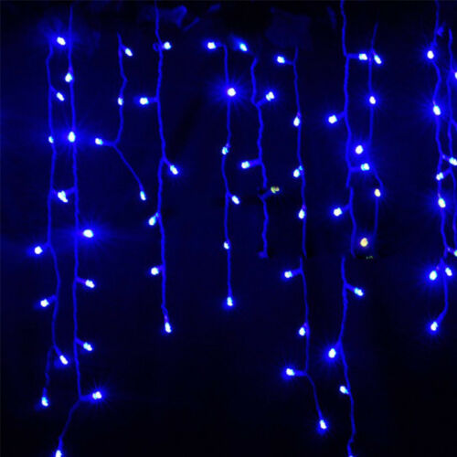 christmas outdoor decoration 3.5m Droop curtain icicle string led light 220//110V