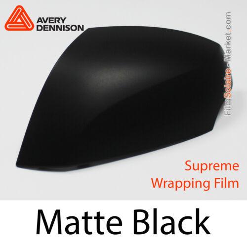 AS1430001 Folie Matt Schwarz Proben Avery Dennison Supreme Wrapping