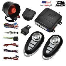 Universal 12v Car Remote Central Kit Door Lock Vehicle Keyless Entry System Us