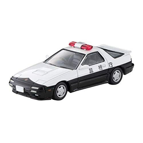 TOMICA LIMITED VINTAGE NEO LV-N214a 1//64 MAZDA SAVANNA RX-7 POLICE