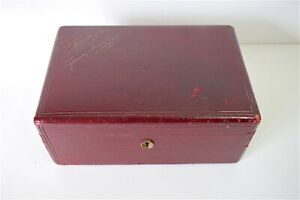 Box-Leather-Game-Signed-Rodeck-Hoflieranten-Franz-Hiess-amp-Sohne-Box