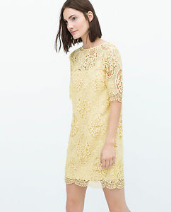 Yellow pastel dress