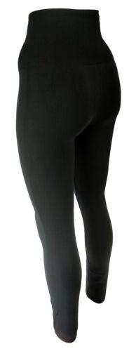 Damen Thermo Leggings mit speziellen Wabenbund  extra Hoch für Bauch und Rücken