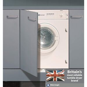 white knight c43aw 43aw 6kg integrated vented tumble dryer c43aw rh ebay co uk White Knight Logo Holy White Knight