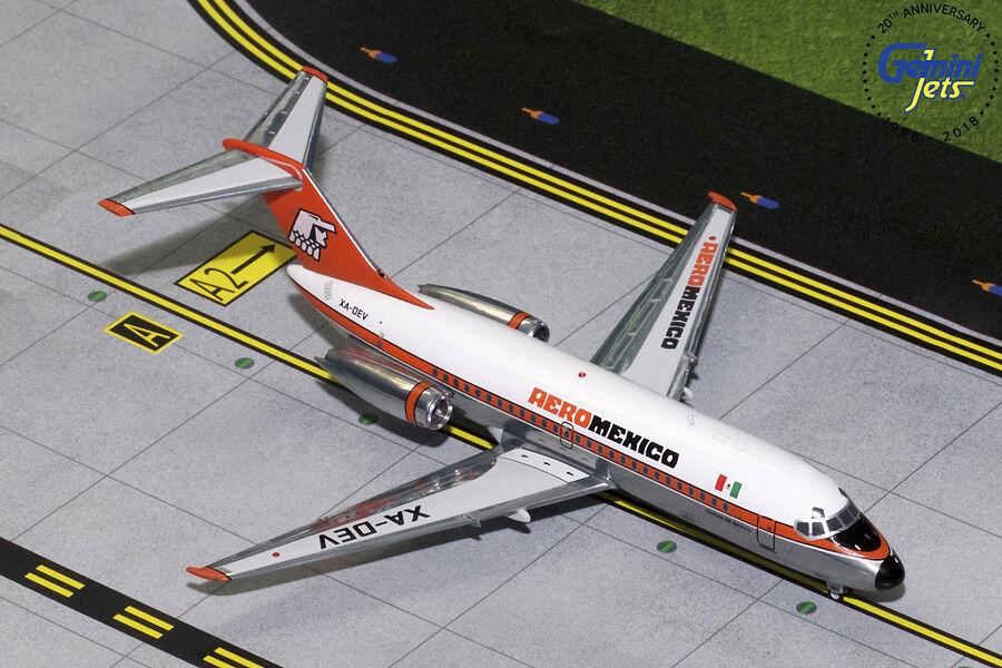 tienda en linea GEMINI JETS AEROMEXICO DOUGLAS DC-9-10 DC-9-10 DC-9-10 1 200 DIE-CAST MODEL G2AMX315 IN STOCK  calidad oficial