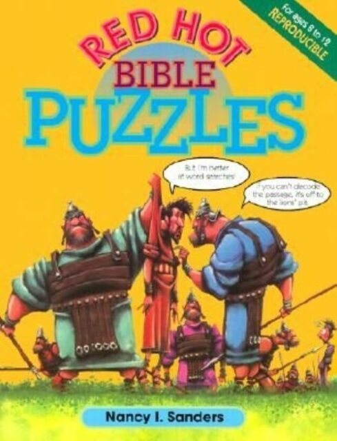 (Very Good)-Red Hot Bible Puzzles (Paperback)-Sanders, N-0570047900