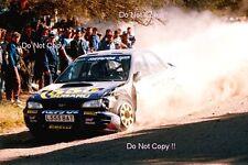 Colin McRae Subaru Impreza 555 Argentine Rally 1994 Photograph