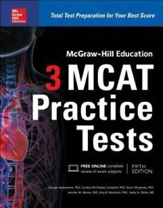 McGraw-Hill-Education-3-MCAT-Practice-Tests-VeryGood